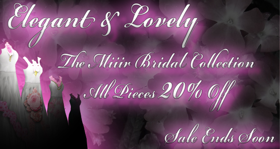 Miiir Bridal Collection Discount